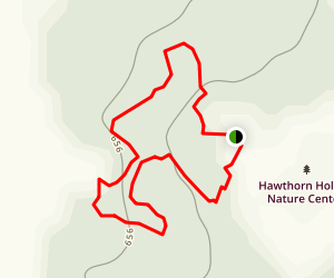 Hawthorn Hollow Nature Sanctuary and Arboretum Map