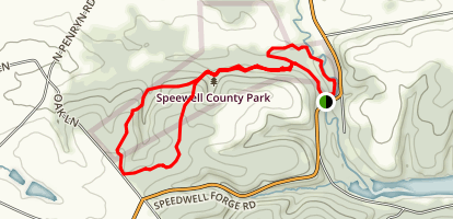 Oak Loop Trail Map