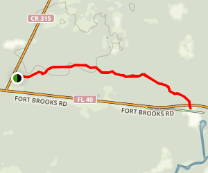Silver Springs Connector Trail Map