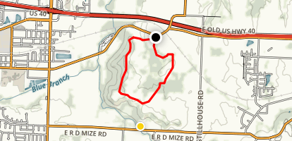 Monkey Mountain East Loop Map