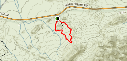 Redstone Extended Loop Trail Map