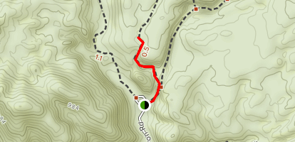 Rope Canyon Trail Map