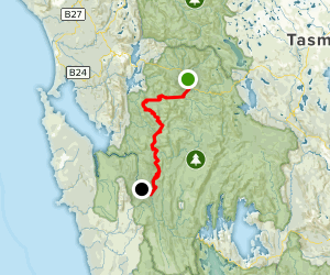 Franklin River Rafting Trip Map