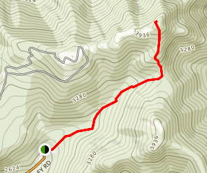 Mount Gordon Lyons Trail Map