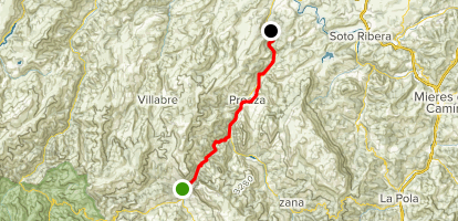 Senda del Oso Rail-trail Map