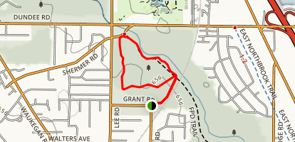 Chipilly Woods Trail Map