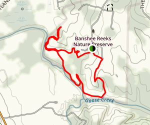 Goose Creek Trail Map