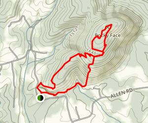 Hollow Rock Trail Map
