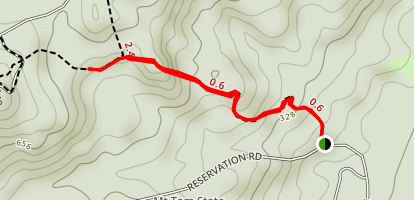 T Bagg Trail Map
