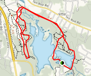 Belleville Pond Map