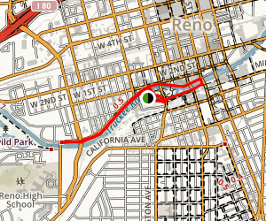 Truckee River Walk Map
