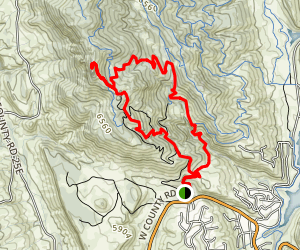Horsetooth Falls and Horsetooth Rock Trail Map