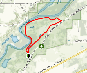 Lawrence Trail Map