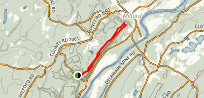Cliff Trail Map