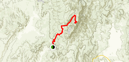 Squaw Butte Map
