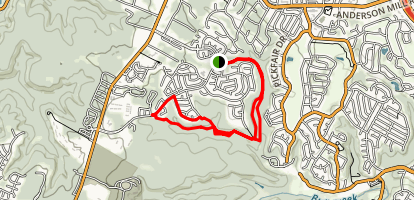 Trailhead Park Loop Map