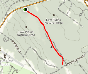 Davis Path Trail Map