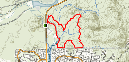 Hawes Trail System Loop Map