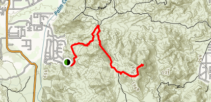 Bogert to Murray Peak Map