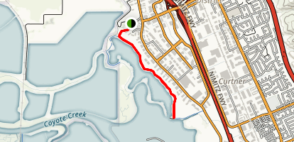 Don Edwards- Coyote Creek Lagoon Trail Map