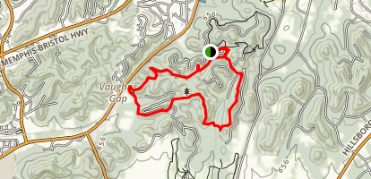 Mossy Ridge Trail Map