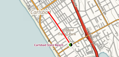 Carlsbad Coastal Rail Trail  Map