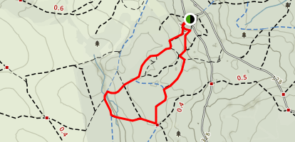 Bolderwood Deer Sanctuary - Radnor Trail Map