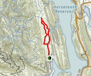 Shoreline Trail to Nomad Trail Loop Map