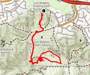 Vista Loop Trail Map