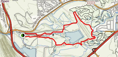 Mount Carbon Loop Map