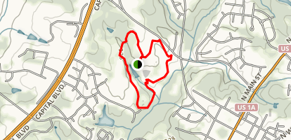 E. Carroll Joyner Park Trails Map