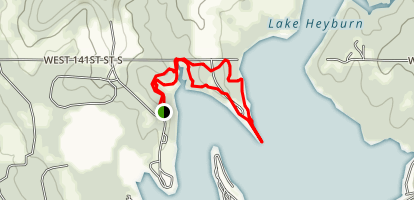Sheppard Point trail  Map