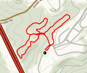 Haverford Reserve Trail Map
