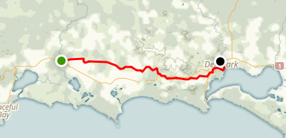 Denmark Nornalup Heritage Rail Trail Map