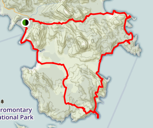 Wilsons Promontory Grand Circuit Map