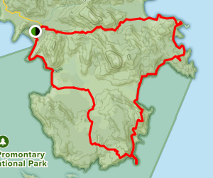 Wilsons Promontory Southern Circuit Map