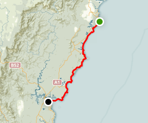 Murramarang Coast Walk Map