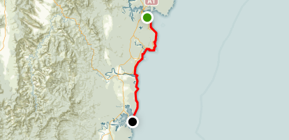 Eurobodalla Coast Walk (Bateman's Bay to Tuross) Map