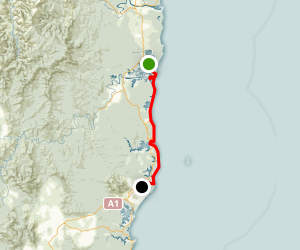 Eurobodalla Coast Walk (Tuross to Mystery Bay) Map