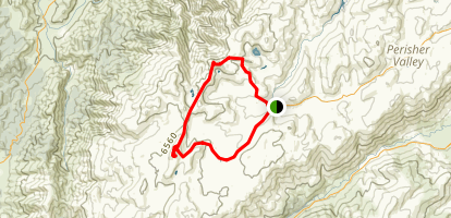 Kosciuszko Lakes Walk Map
