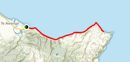 Cape Kidnappers Map