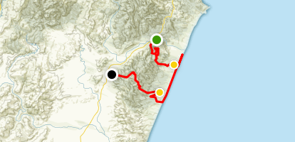 Kaikoura Coast Track Map