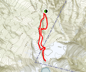 Ruapehu Crater Walk Map