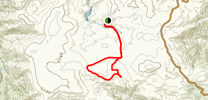 Bogong High Plains Loop Map