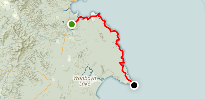 Lighthouse to Lighthouse Track Map