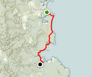 Ben Boyd National Park Walk Map