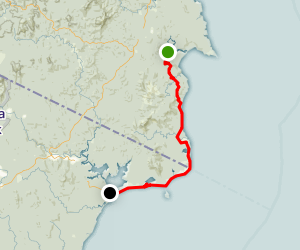 Nadgee Wilderness Track Map