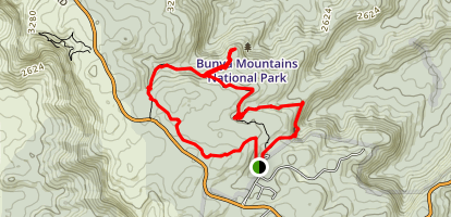 Barker Creek Circuit Map