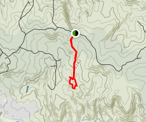 Gooch's Crater Trail Map