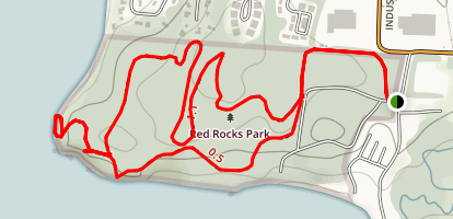 Red Rocks Park Loop Trail Map